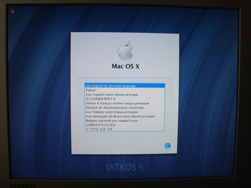 Install of OSX 10.6.3