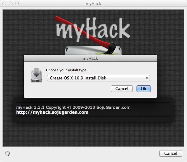 myhack create osx 10_9